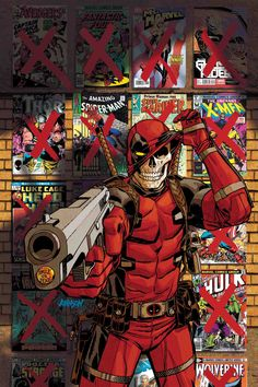 Deadpool Pack Ensemble de 5 Broches