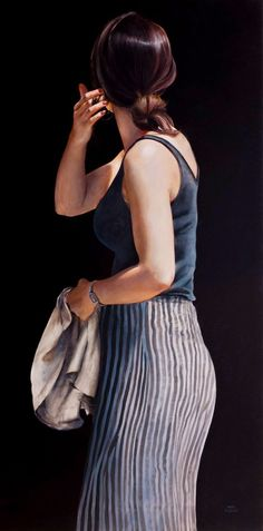 Hyper Realistic Girls Figure Painting By Marc Figueras (2)