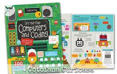 Lift the flap Computer and Coding  #computer #coding #scratch #usborne #cotofanacurioasa