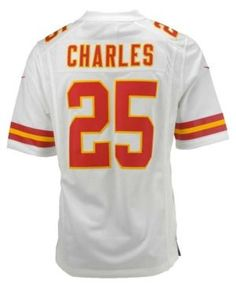 ... Nike Mens Jamaal Charles Kansas City Chiefs Limited Jersey - White M ... 4249950c9