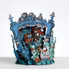 'Hansel & Gretel' pop-up card by Clive Hicks-Jenkins for Benjamin Pollock's Toyshop