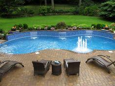 Freeform Pool 2011 NESPA Design Awards  Gold True Blue Swimming Pools  Www.trueblueswimmingpools.