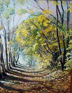 Autumn light by Rod Bere | Artfinder