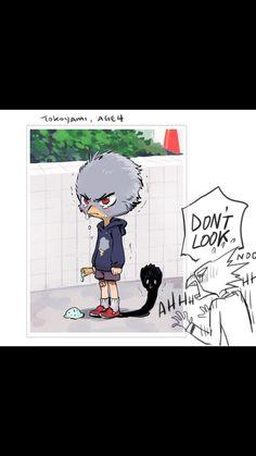 What Tokoyami was really hiding... - Album on Imgur