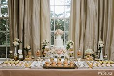 WedLuxe– An Elegant, Blush-Hued Wedding with an Elegant, Victorian-Like Spin   Photography By: Mango Studios. Follow @WedLuxe for more wedding inspiration!