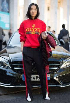 #athleisure done right. #streetstyle #fashionweek