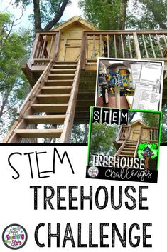 Are you looking for a fun STEM activity that would connect to the books The Great Treehouse War by Lisa Graff or The Magic Treehouse Series? Treehouse STEM Challenge will give your students the opportunity to research treehouses and design their own model. Your students will love designing, creating, and engineering. Students will problem solve and think critically as they complete their challenges. Great for Makers Spaces, STEM Labs, or After School STEM Projects (third, fourth, fifth grade)