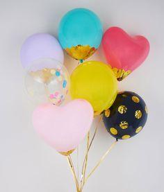 30 Brilliant DIY Balloon Projects via Brit + Co