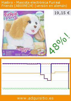 Hasbro - Mascota electrónica Furreal Friends (A8009E24) (versión en alemán) (Juguete). Baja 48%! Precio actual 19,15 €, el precio anterior fue de 36,99 €. https://www.adquisitio.es/hasbro/mascota-electr%C3%B3nica-0