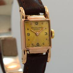 Late 1940's 18K Rose Gold Patek Philippe Ladies Watch