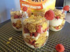 El diario de mi Hogar: Postre de rasberries, yogurt y cereal Honey Bunche...