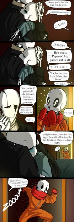 Skelefam- Don't have to hide pt 15 by TheBombDiggity666