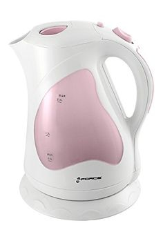 GForce GF-P1284-931-P Electric Kettle With Keep Warm Button, 2 Liter (Pink)