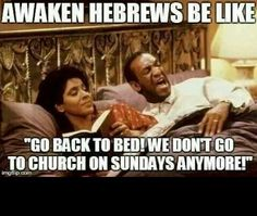 Yeah,  don't bother inviting me to Sunday church especially on a glorified pagan holiday!