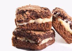 como fazer brownie recheado para vender