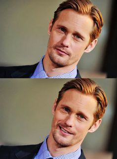 Can I have Alexander Skarsgaard please? Just one time? C'mon.......lol