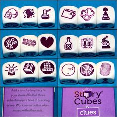 Rory Story Cubes | Family and Games Lesson Plan Organization, Teacher Organization, Organized Teacher, Teachers Toolbox, New Teachers, What Can I Draw, Story Cubes, First Grade Sight Words, Classroom Decor