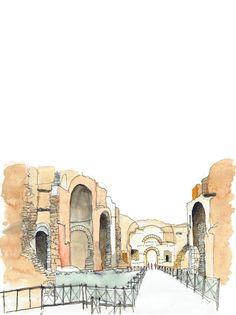 Galería de Estas intrincadas ilustraciones presentan ciudades fantásticas en detalle - 6