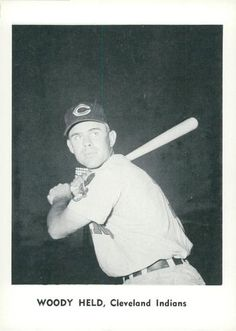1961 Jay Publishing Cleveland Indians #NNO Woody Held Front