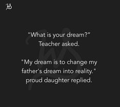 Parents Quotes From Daughter, Mom And Dad Quotes, Daddy Quotes, Father Daughter Quotes, Family Quotes, Fact Quotes, Words Quotes, Life Quotes, Strong Mind Quotes