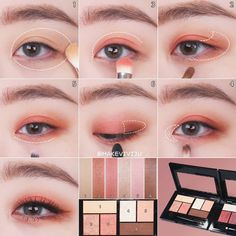 Skin Care Can Be Easy With These Effective Tips - Fashion Beauty Body Chinese Makeup, Korean Makeup Look, Korean Makeup Tips, Asian Eye Makeup, Korean Makeup Tutorials, Eye Makeup Tips, Makeup Trends, Eyeshadow Makeup, Beauty Makeup