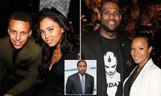 ESPN's Stephen A Smith compares Ayesha Curry and LeBron James' wife Savannah Brinson