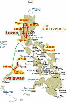 Filipinas. Ruta y precios de referencia - Viajes con Mochila