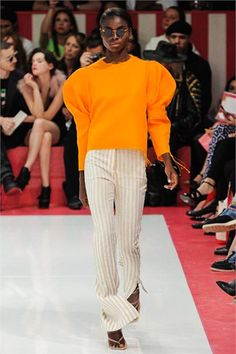 Acne - Spring Summer 2013 Ready-To-Wear - Shows - Vogue.it (and most of the shoes in the collection)  LOVE THE SLEEVES