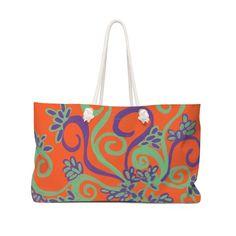 Orange Your Glad Bag
