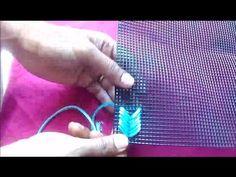 plastic canvas stitch  design 1 - YouTube