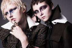 Olesya Ivanishcheva & Cirkeline Nielsen In Formation By William Lords For Models.com — Anne of Carversville