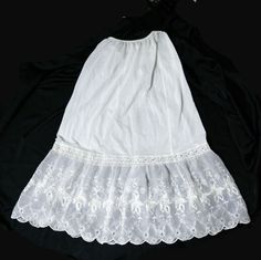 Vintage Lingerie, Vintage Lace, Sexy Lingerie, Vintage Style, Scarf Dress, Lace Dress, Slip Skirts, Yellow Lace, Eyelet Lace