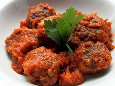 Receta Plato : Albóndigas de caballa en salsa de tomate por Ana maría
