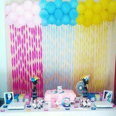Essa foi a festa que fiz para minha irmã.