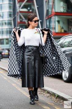 Miroslava Duma | Milan Fashion Week | FW14/15