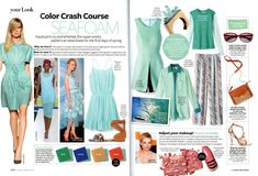 this has some great color ideas for summer weddings (: