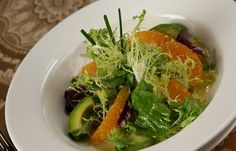 Avocado Citrus Salad Recipe served at The Wave in Contemporary Resort at Disney World