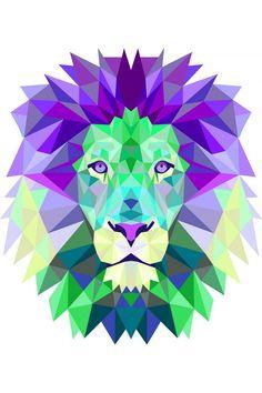 печать лев - Поиск в Google