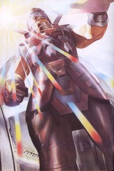 Galactus by Alex Ross. Yeah there is a disturbing amount of Galactus on Pinterest. I think Galactus is an investor.