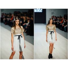 """""""Eco leather + Lace dress by Coo Culte"""""""