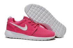 65cabba9df530 Nike Roshe Women s pink white Mesh Shoes · Nike FlyknitDiscount ...