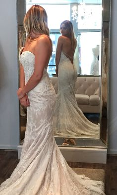 New at Mia Bella Couture. Let us know what you think! #miabellacouture #miabellabridal #californiaglam #wedding #weddingdress #bridalgown #weddingday #specialday #bride #groom #friends #family #ido #sayyestothedress