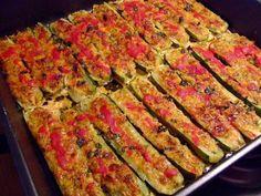 Veggie Recipes, Zucchini, Vegan Vegetarian, Quiche, Parmezan, Vegetables, Breakfast, Mai, Food