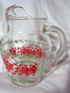 ~~Vintage Anchor Hocking 40 oz Juice Pitcher~~