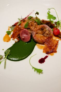 Arkansas Rabbit Loin / 17 Stunning Photos Of Chef Charlie Trotter's Food (via BuzzFeed)