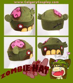 Stylized Zombie Hat , Winner by calgarycosplay