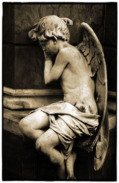 Stone Angel by Andrew Gibson  Manzanillo Morning. La Recoleta cemetary in Buenos Aires