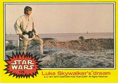 Vintage Star Wars Trading Cards - had this!