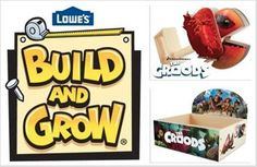 Lowe's Build & Grow Kit #TheCroods (& Giveaway Ends 4/1)  @ckachelmuss