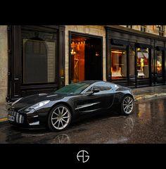 Aston Martin One-77, Paris, France
